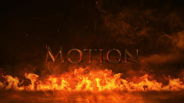 Epic Fire Logo Plantilla de After Effects