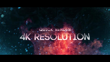 Cinematic Trailer Slideshow Titles After Effects Template