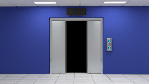 Elevator Door Animation Animation