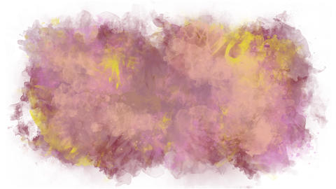Watercolor background in soft pastel colors Animation