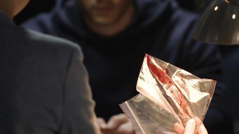 Murderer shocked to see evidence knife from crime scene, investigation methods Live Action
