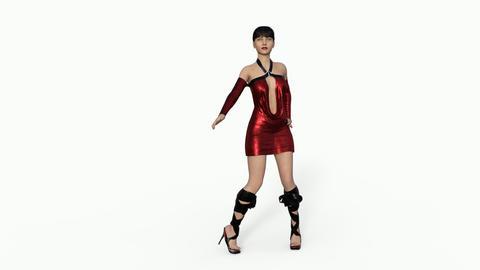 Beautiful Girl Model Posing ライブ動画