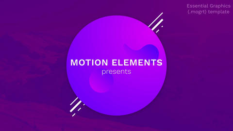 Modern Style Titles and Text After Effects Template
