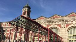 1006185 IMG 0815 Ellis Island Immigration Museum Exterior ED Footage
