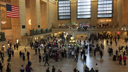 1007054 IMG 1101 NYC Grand Central Interior ED stock footage