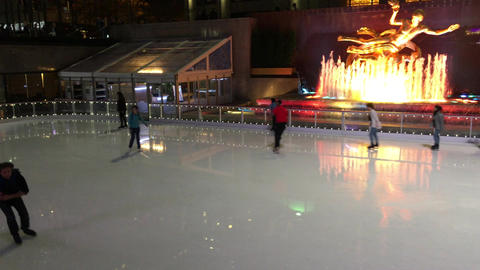 1007098 IMG 1272 NYC Ice Rink Rockefeller Center ED Live Action