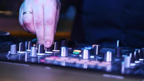 DJ sound equipment at nightclubs and music festivals Footage