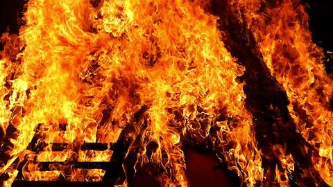 Close-up of a bonfire Live Action