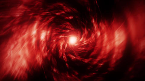 Red Energy Vortex Tunnel Loopable Motion Background Animation