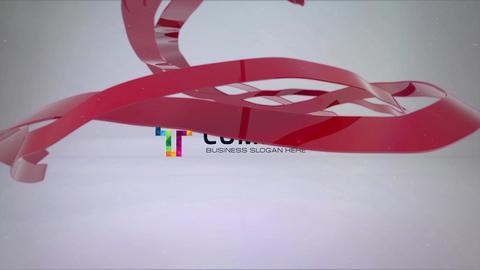 Clean Ribbon Logo Reveal Bundle Premiere Pro Template