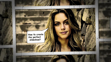 Ultimate Comics Slideshow After Effects Template