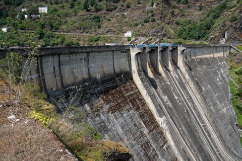 Green Energy, hydroelectric power plant フォト