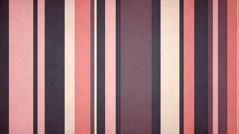Paperlike Multicolor Stripes 20 - Muted Pink Colors Texture Video Background CG動画