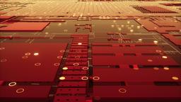 3d rendering of abstract circuit board Fotografía