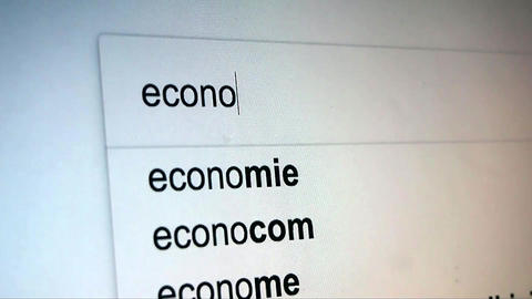 Searching Economy on Internet Live Action
