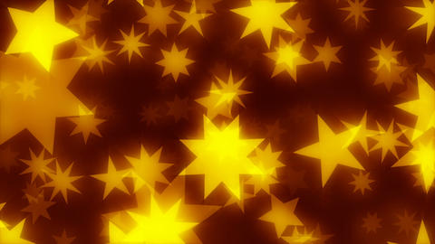 ChriStars 4k - Classic Christmas Stars Video Background Loop Animation