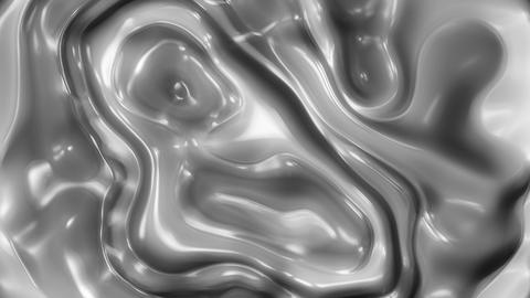 Metal Flow 1 - Metallic Organic Fluid Video Background Loop Animation