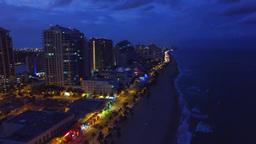 1011019 Fort Lauderdale at sunset DJI 0061 1 Footage