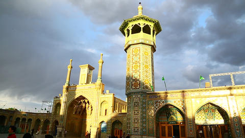 In iran antique mosque 0004 Footage