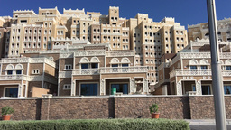Dubai Jumeirah Palm Buildings Footage
