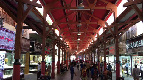 DUBAI - NOVEMBER 22, 2015: Dubai Souk on a beautful day. The city attracts 14 mi Footage