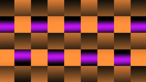 squares VJ LoopPhotoJPG orange color Animation