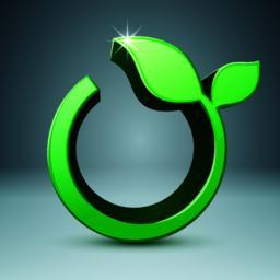 Grass 3d icon. Health infographic ベクター