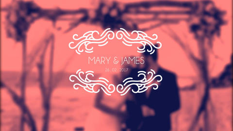 Premium Wedding Titles After Effect Template V18 After Effectsテンプレート