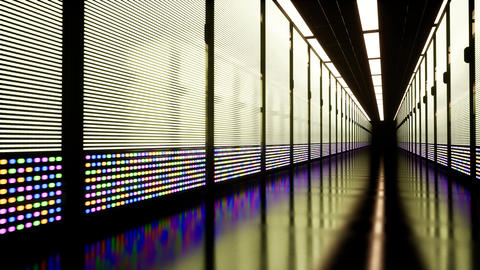 Through Rack Servers. Big data. Artificial Intelligence. Machine learning Live Action