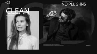 Dark Fashion Slideshow After Effects Template