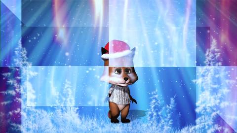 Christmas card background 01 Animation