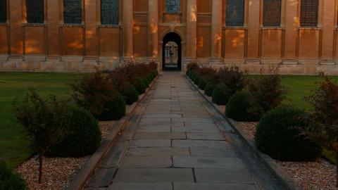 Queens College, Cambridge, England, UK Live Action