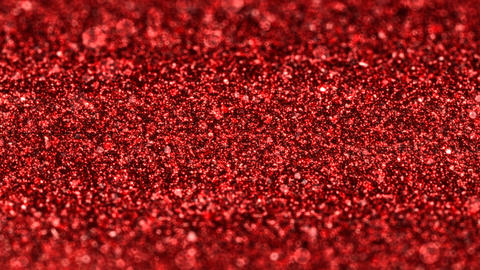Shiny red glimmer particles Christmas seamless loop abstract background Animation