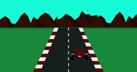 Retro pixel art style race car game Vector ベクター