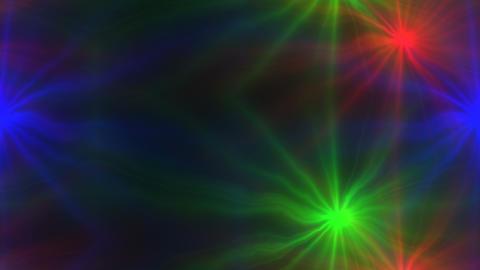 Explosion flash lights optical lens Animation