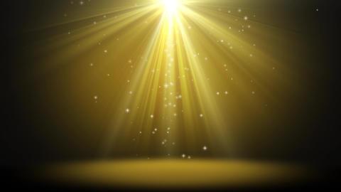 Glitter Golden Light Background Loop GIF