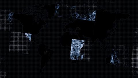 News Map Squared CG動画素材