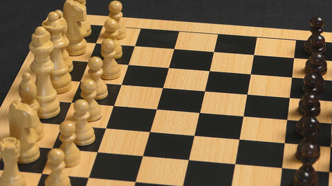 Making The First Move Chess Concept GIF