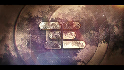 Epic Stone Logo After Effects Template