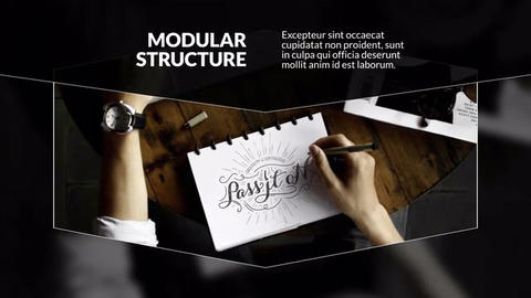 Business Rhombus Corporate After Effects Template