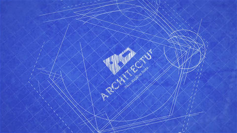 Blueprint Logo Reveal After Effects Template
