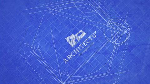 Blueprint Logo Reveal After Effectsテンプレート