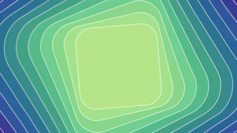 Abstract video background with rhombus in tunnel motion, blend effect, seamless GIF