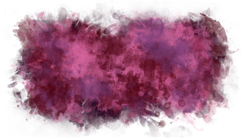 Cherry color watercolor background Animation