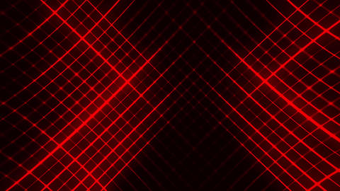 Red Flashing Grid Abstract VJ Loop Background Animation