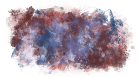 Sprawling colored blob Animation