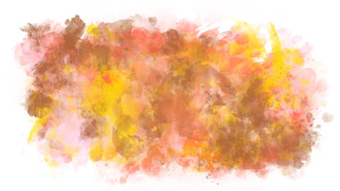 Background of abstract paint stains Animation