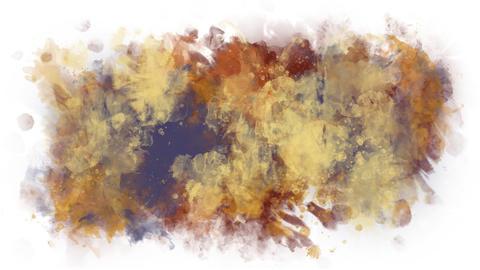 Spray multicolored cracks Animation