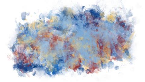 Background abstraction from paints Animation