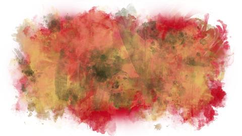 Spilled paint splashes Animation